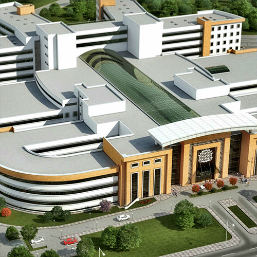 Seismic Isolated Çorum Hospital