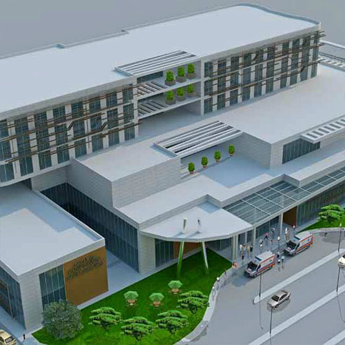 Seismic Isolated Sakarya Gynecology Hospital