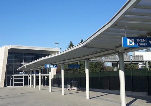 Milan Malpensa International Airport T1-T2 Train Link