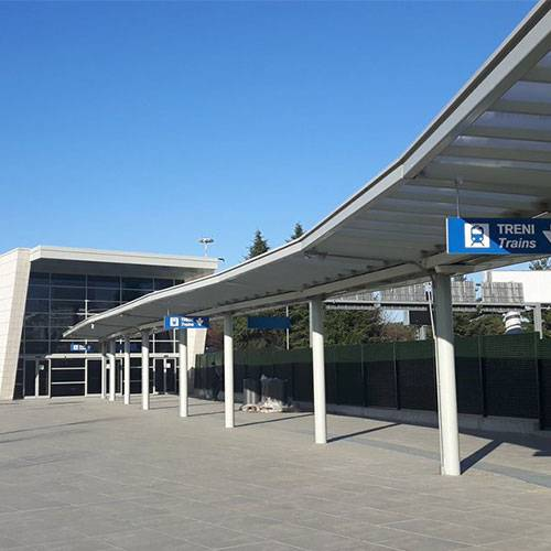 Milan Malpensa International Airport T1-T2 Train Link