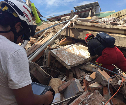 7.8-M Ecuador Earthquake Damage spans 200-km coastline
