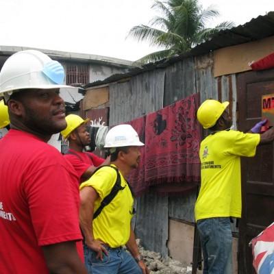 Haiti 400,000 Damaged Buildings Repair Program
