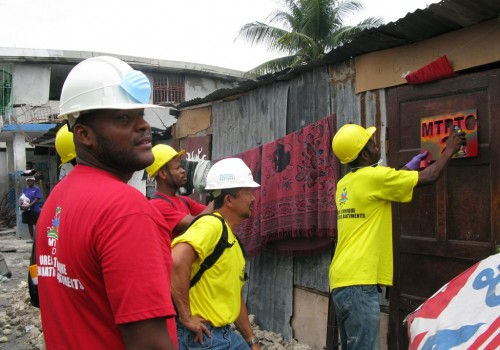 Haiti 400,000 Damaged Buildings Repair Program